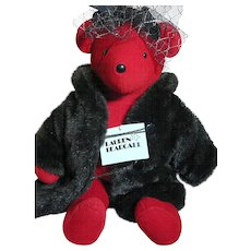 Lauren Bearcall Teddy Bear   North America Bear Co  Great outfit