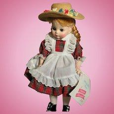 Madame Alexander McGuffey Ana Doll  MIB  1960s