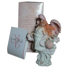 Seraphim Classics Roman Harmony Loves Guardian  Angel Figurine Original Box