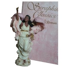 Seraphim Figurine Angel Celine the Morning Star by Roman Inc Mint In Box