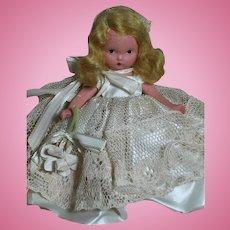 Nancy Ann Storybook Bisque Doll Bride Doll