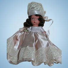 Nancy Ann Storybook Bisque Bridesmaid  Lovely Outfit  1940's