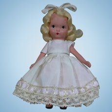 Nancy Ann Bisque Storybook Doll  There was A Maiden Bright and Gay