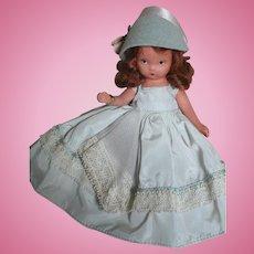 Nancy Ann Bisque  Storybook Doll  Wednesdays's Child Full of Woe