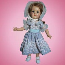 "Ideal Hard Plastic Toni Doll Marked Ideal P-90 14"""