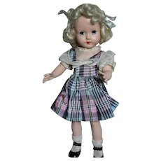 """Effanbee Doll Honey Hard Plastic  1950s   14"""" All Original"""