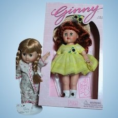 Two Vogue Ginny dolls One in Box walk in the Park