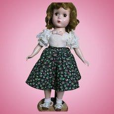 Madame Alexander Maggie Walker Hard Plastic Original dress  #1515  1950s
