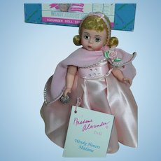 """Madame Alexander Wendy Honors Madame 8"""" Mint in box"""