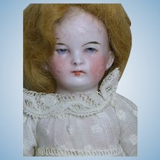 Gebruder Heubach All Bisque Jointed Doll Intaglio Eyes