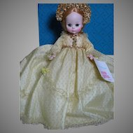 Madame Alexander Sleeping Beauty dressed In Gold Gown  Tag & Box