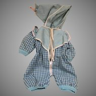 """Terri Lee Doll Jump Suit for 16 """" Doll 1950's"""