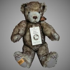 Merrythought Bear Jointed Growler Brown Tipped Made in England