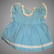 """Vintage Blue  Dress  for 16 """" Terri Lee Doll or other  1950's"""