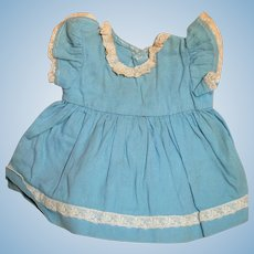 "Vintage Blue  Dress  for 16 "" Terri Lee Doll or other  1950's"