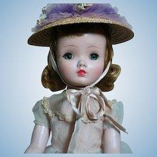 "Madame Alexander Cissy/Binnie Doll Original Outfit  18"" 1950s"