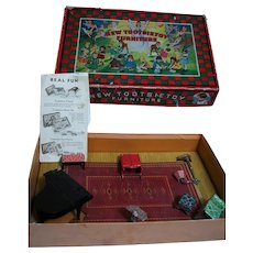 Tootsie-Toy-Boxed-Furniture-Set-Music-Hath-Charms-Music-Room with Catalog Pamphlet