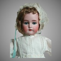 Beautiful Antique Kammer & Rheinhardt Simon Halbig  Doll Lovely Old Clothes 24""