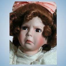 """Dianna Effner Doll Girl With a Curl  Naughty Girl  14"""""""