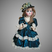 Wilhelm (William) Dehler French Type Antique Doll Marked W. D. 7