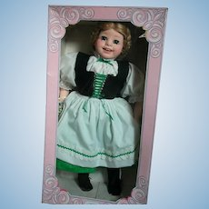 "Vintage Doll by Royal House of Dolls   Gretchen Mint in Box 21"" tall"