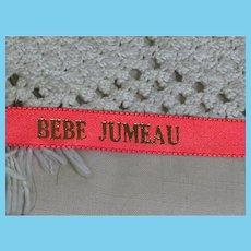 Bebe Jumeau Red Ribbon for Doll Dress Making