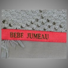 Bebe Jumeau Red Ribbon for Doll Dress Making
