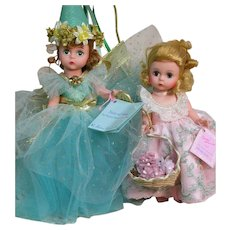 """Two Madame Alexanders Doll Fairy of Song & Wendy Loves  8"""""""