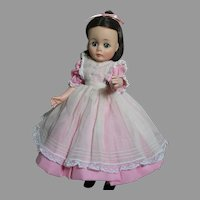 Madame Alexander Doll Beth  of Little Women Hard Plastic / Vinyl  12""