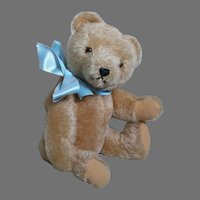 "Vintage Hermann Jointed Teddy Bear 12"" Made in West  Germany"