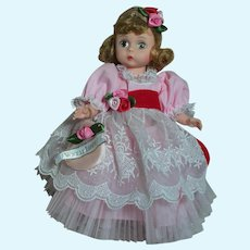 """Madame Alexander Doll   With Love   Beautifully Dress  8"""""""