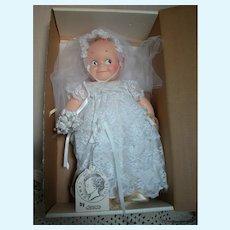 "Rosie O'Neill  Kewpie Doll Cameo by Jesco Bride Doll in Original box  16"" tall"