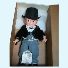 "Rosie O'Neill Kewpie Doll Cameo by Jesco Groom Doll in Original box 16"" tall"