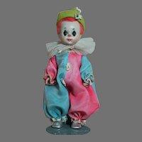 "Madame Alexander Doll Baby Clown Straight Leg Walker 1955  8"""
