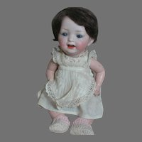 """Antique Morimura Brothers Baby Doll Bisque Head Composition body 9"""""""