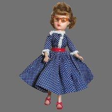 """Miss Nancy Ann in Original Outfit #313   Swivel waist  Earring  10""""  1950's"""