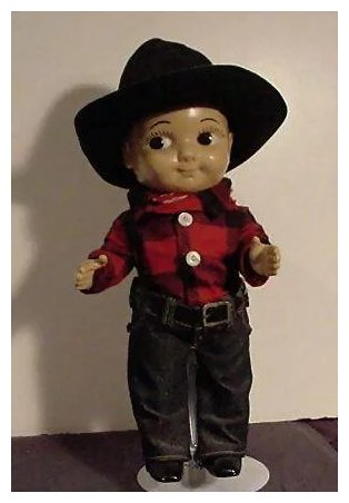 Advertising Doll Buddy Lee Cowboy Minton S Doll And