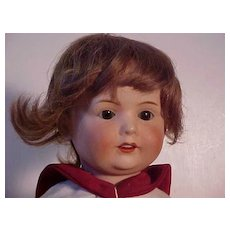 Cute Nippon Boy Doll With Expressive Face