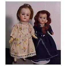 Pair Of Petite German Children