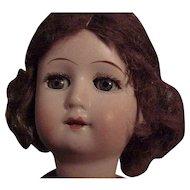 German Goebel Child Doll In Petite Size