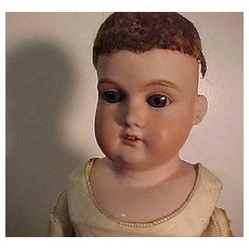 German Doll With Unusual Crying Mechanism