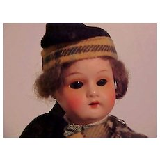 Robbie From Scotland, A Painted Bisque Regional Doll From Heubach Koppelsdorf