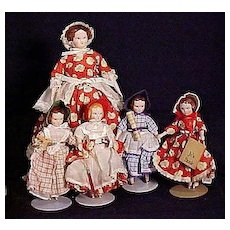 Complete Set Of Ruth Gibbs Little Women In Mint Condition