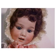 Very Unusual Character Baby Marked 410 With Retractable Teeth