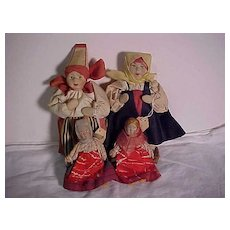 Four Russian Dolls In Excellent Condition