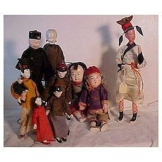 Ten Chinese Dolls From The Forties