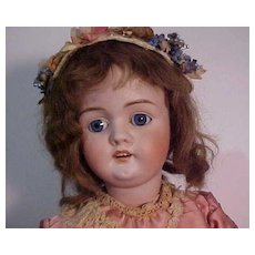 Rarely Found Doll With Unusual Mold Mark