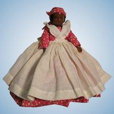 Rarely Found Dark Skinned Ruth Gibbs Doll In Original Costume