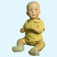 Gebruder Heubach Character Baby In Large Size With  Perfect Features