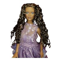 """Tonner 16"""" 2011 PARTY ALL NIGHT JON DOLL Jonquil Parker LE125 African American"""